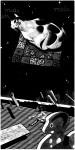 MIDI (Zwei Welten), 2013 Holzschnitt, 5er Auflage Druck 120 x 60 cm, Papier 123 x 63 cm€ 850,-