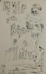 ohne TitelLithographie a/Papierre. u. signiert, li. u. num. 8/3334,8 x 24,8 cm (Blattgröße)o/R € 1000,-