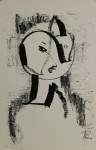 ohne TitelLithographie a/Papierre. u. signiert, li. u. num. 20/5034,8 x 24,8 cm (Blattgröße)o/R € 900,-