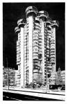 Torres Blancas, 2012 Linolschnitt, Handdruck Auflage 5+2 Druck: 120 x 76 cm Papier: 140 x 96 cm