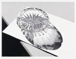 Aschenbecher 2014Linolschnitt, Auflage: 12Druck: 30,0 x 39,7 cm, Papier: 40,0 x 50,0 cm