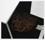 Unterm Tisch 2015Linolschnitt, Auflage: 15Druck: 30,5 x 34,4 cm, Papier: 39,6 x 34,4 cm