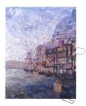 Venezia, 2015Acrylfarben und Tüten auf Leinwand, 180 x 140 cmPreis auf Anfrage