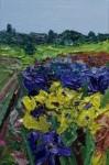 Irisfeld 2013Öl auf Leinwand 60,0 x 40,0 cm€ 3000