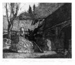 Stadtgottesacker zu HalleStrichätzung, Reservage, Aquatinta, 1995Auflage 4017,5 x 21,0 cm370,- €