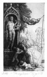 PersephoneStrichätzung, Aquatinta, 1998Auflage 40 + 100 unnum.17,5 x 10,5 cm280,- €