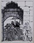 Original-Tusche-Zeichnung aus: Lippels Traum, 198419,7 x 14,7 cm (Darstellung), signiert900,- €