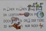 Aquarellierte Original-Zeichnung aus: Kreuz und Rüben, Kraut und quer. Das große Paul Maar-Buch, 2004Ca. 11 x 17 cm (Darstellung), signiert580,- €