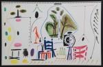 """Aus """"La Californie""""Farb-Lithographie, in der Platte datiert 8.11.(19)55 II, unsigniert Auflage: 2000 Exemplare 27 x 41,5 cm (ganzes Blatt) Nicht im WerkverzeichnisVerkauft"""