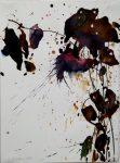 Dunkle Blüte 2002Aquarell auf PapierAM 37,7 x 28,0 cmPreis auf Anfrage
