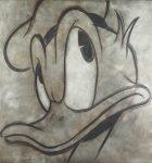 Abb. © DisneyKohle auf acrylfarben lasierter Leinwand, 150 x 140 cmsigniert, 2016€ 3500,-
